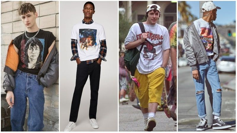 90s Fashion for Men (How to Get the 1990's Style in 2020