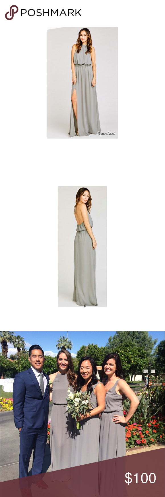 91e60cb847f Show Me Your Mumu Heather Halter Dress Soft Charcoal Crisp is that fire  starter you ve been waiting for. This rich tone compliments everyone s skin  tone and ...