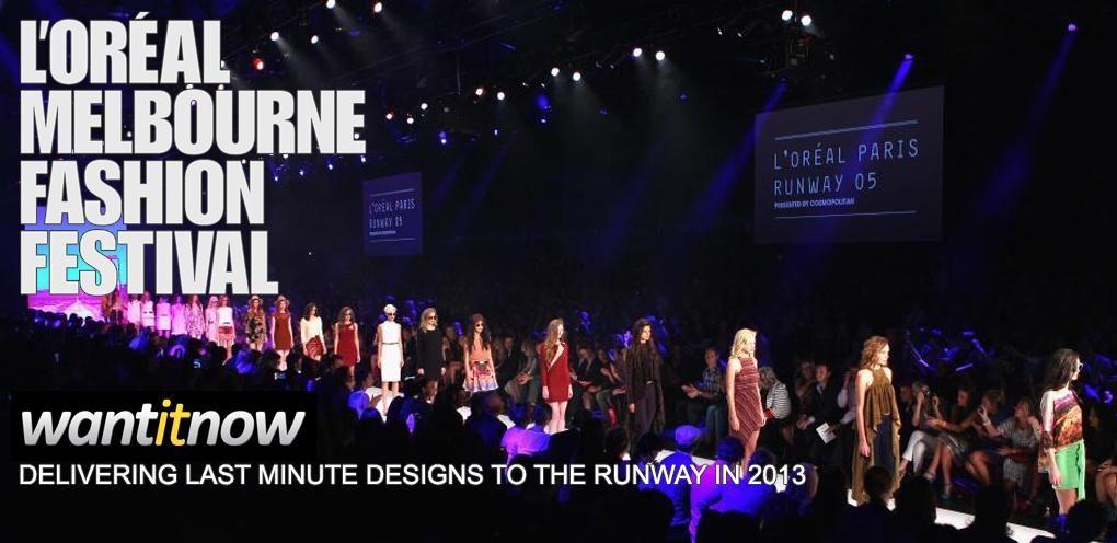 L'Oreal Melbourne Fashion Festival here  we come! @L'Oréal Melbourne Fashion Festival