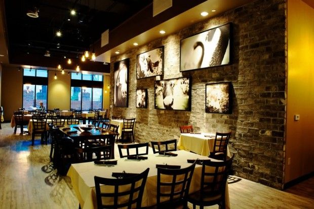 Restaurant Wall Art Interior Decoration of Rusty Spoon, Orlando ...