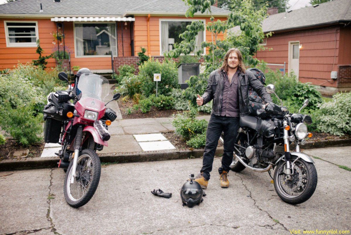 Two photographers riding 11,000 miles from San Francisco