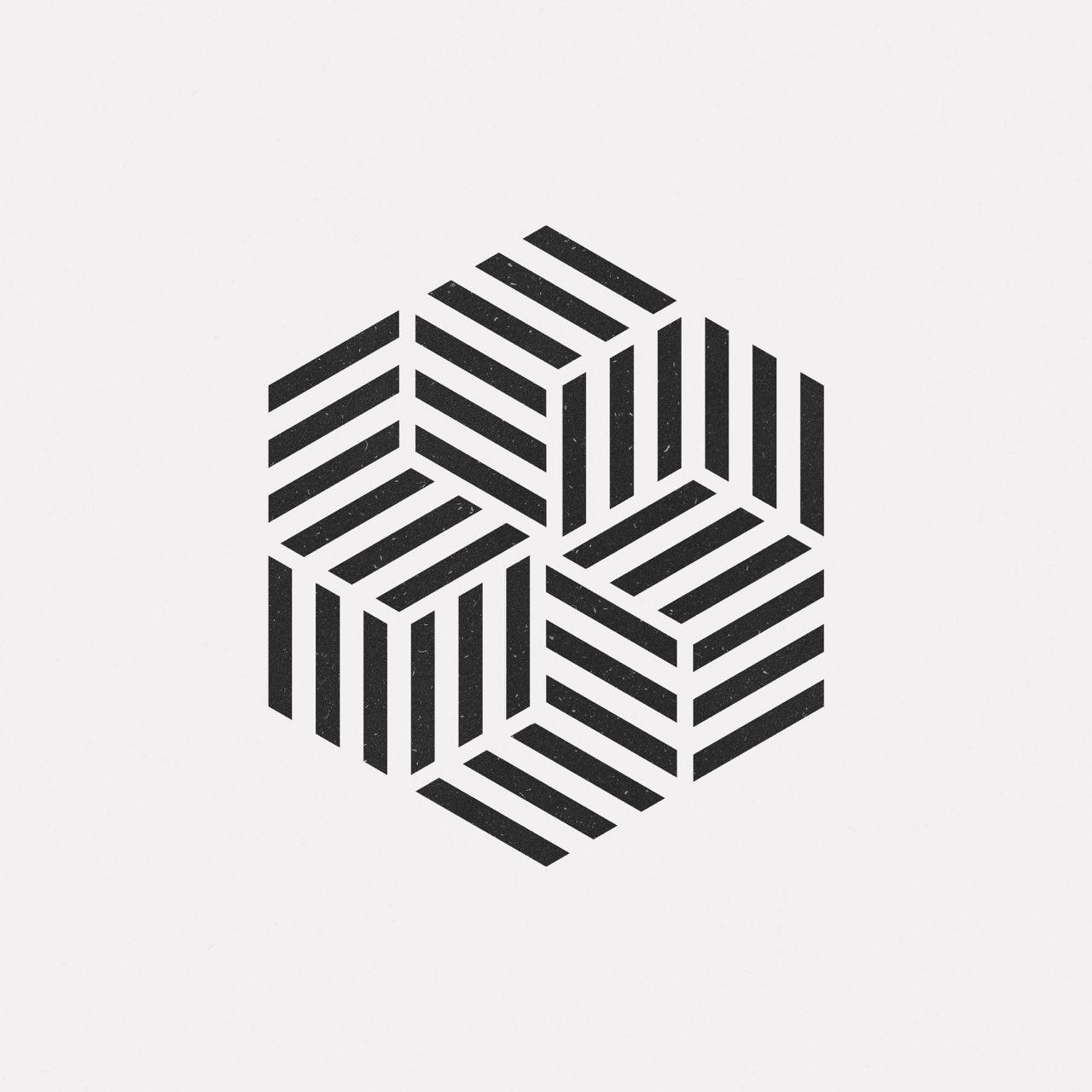 Line Art Logo Design : Ap a new geometric design every day арт