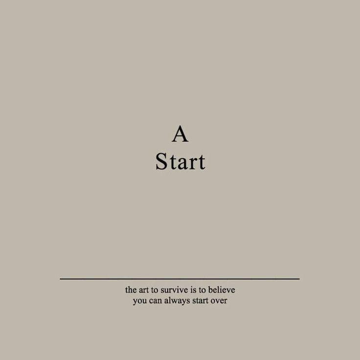 A start