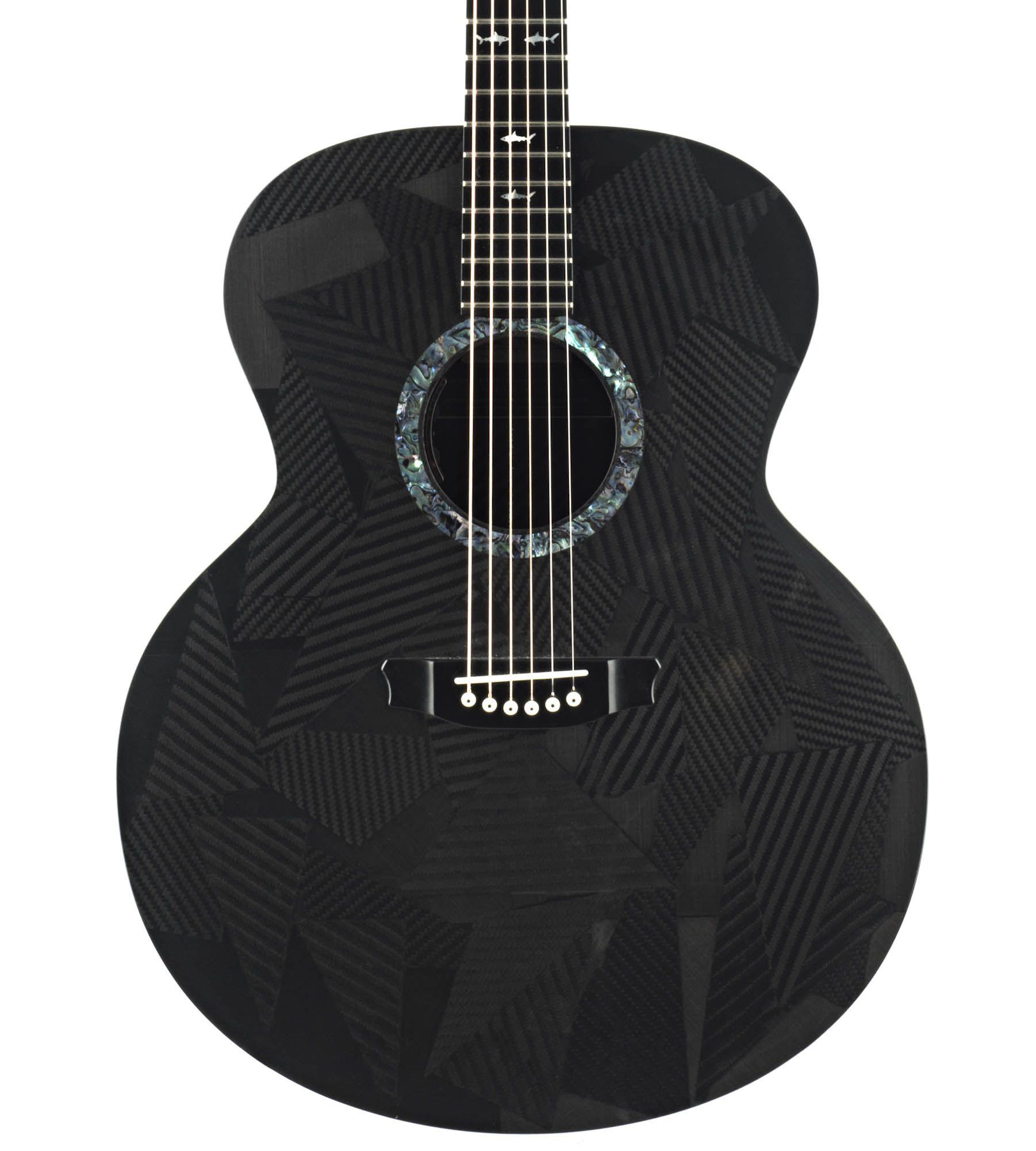 Rainsong Black Ice Jumbo Carbon Fiber Acoustic Guitar Carbon Fiber Acoustic Acoustic Guitar