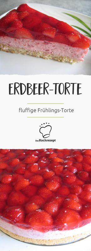 Erdbeer-Torte | Rezept | Backrezepte | Pie cake, Yummy ...