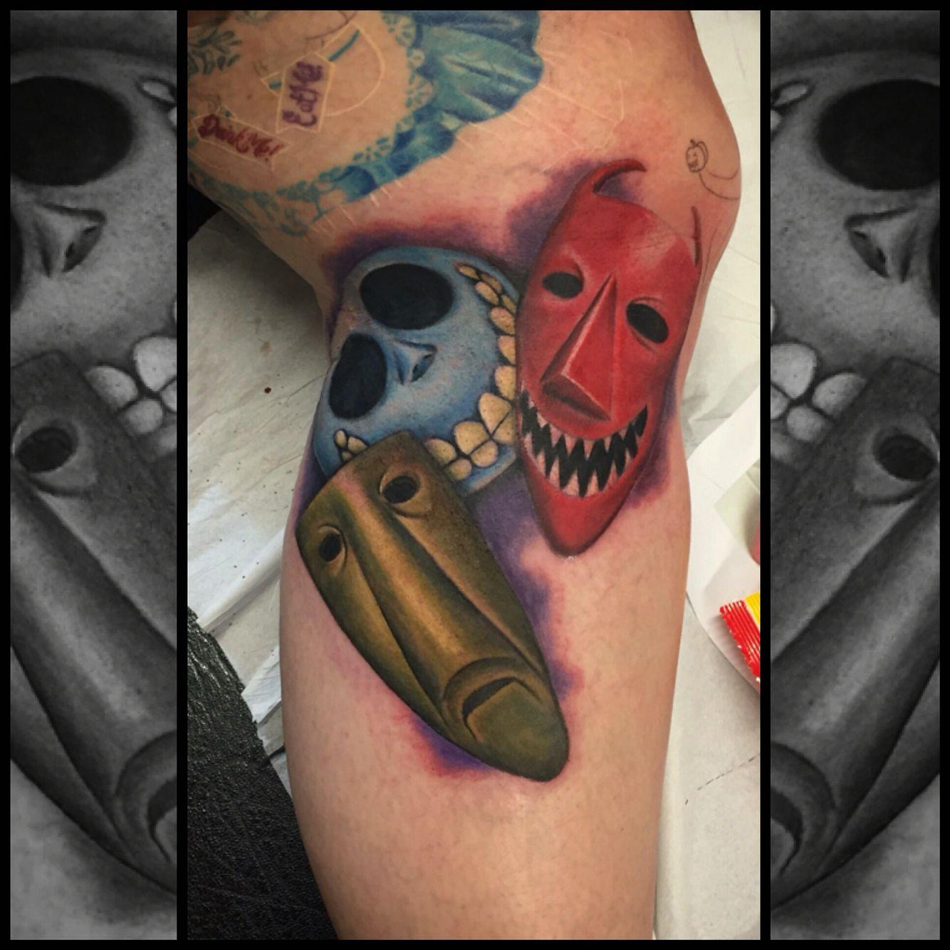 Nightmare before Christmas tattoo by Joanne Leslie. Creative body ...