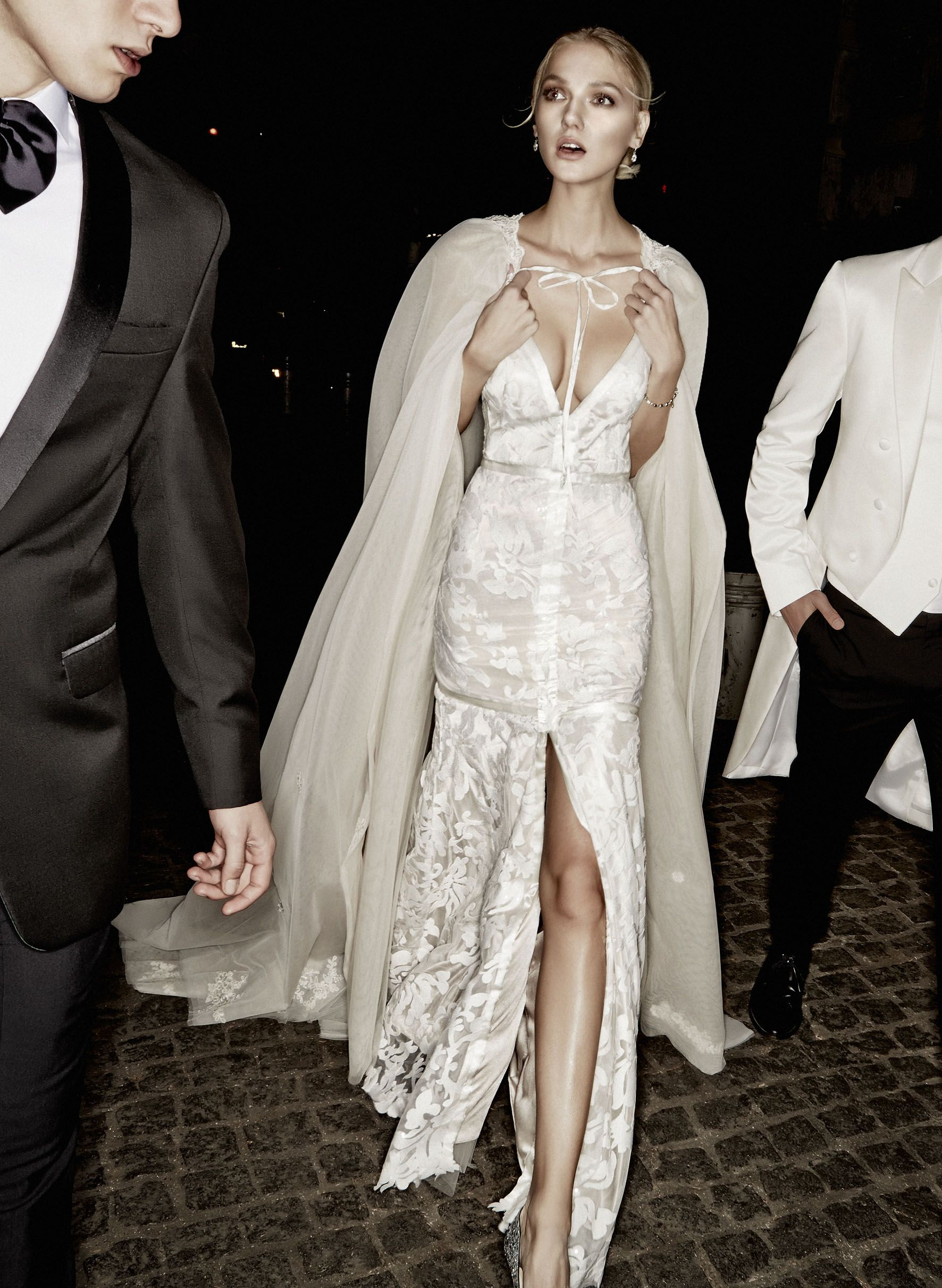Victoria KyriaKides Bridal Collection. Model in the Aria Dress ...