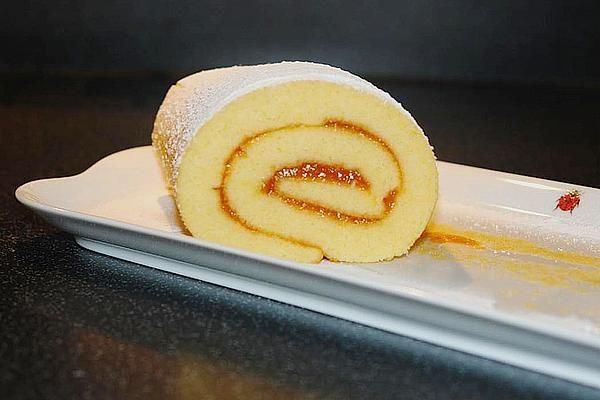 Blitzschnelle Gebäckrolle mit Marmelade von heartandsoul | Chefkoch #bananadessertrecipes