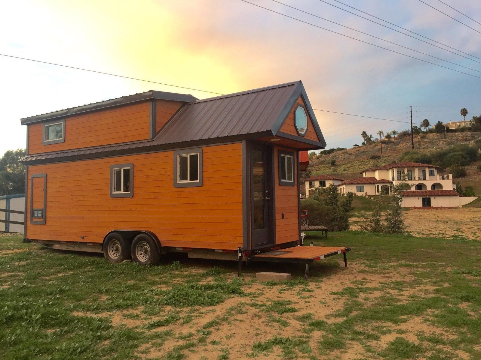 Tiny houses on wheels for sale california - This The Californian Tiny House On Wheels It S Located In Rancho Sante Fe California