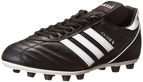 sports shoes ae936 9ee2f adidas Performance Mens Kaiser 5 Liga Soccer Cleat Black White Red 7.5 M US