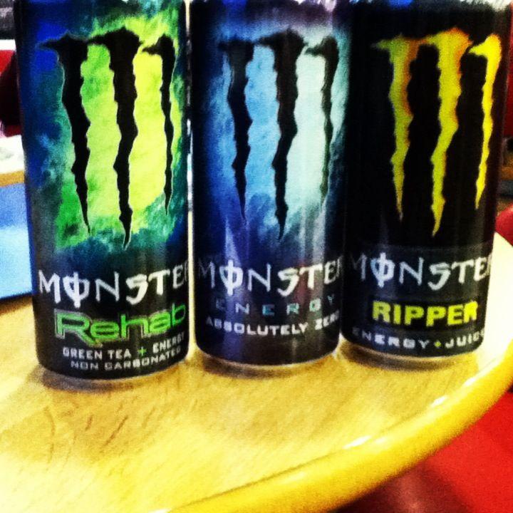 Monster Energy Drinks 3 Monster Energy Drink Energy Drinks Monster Energy