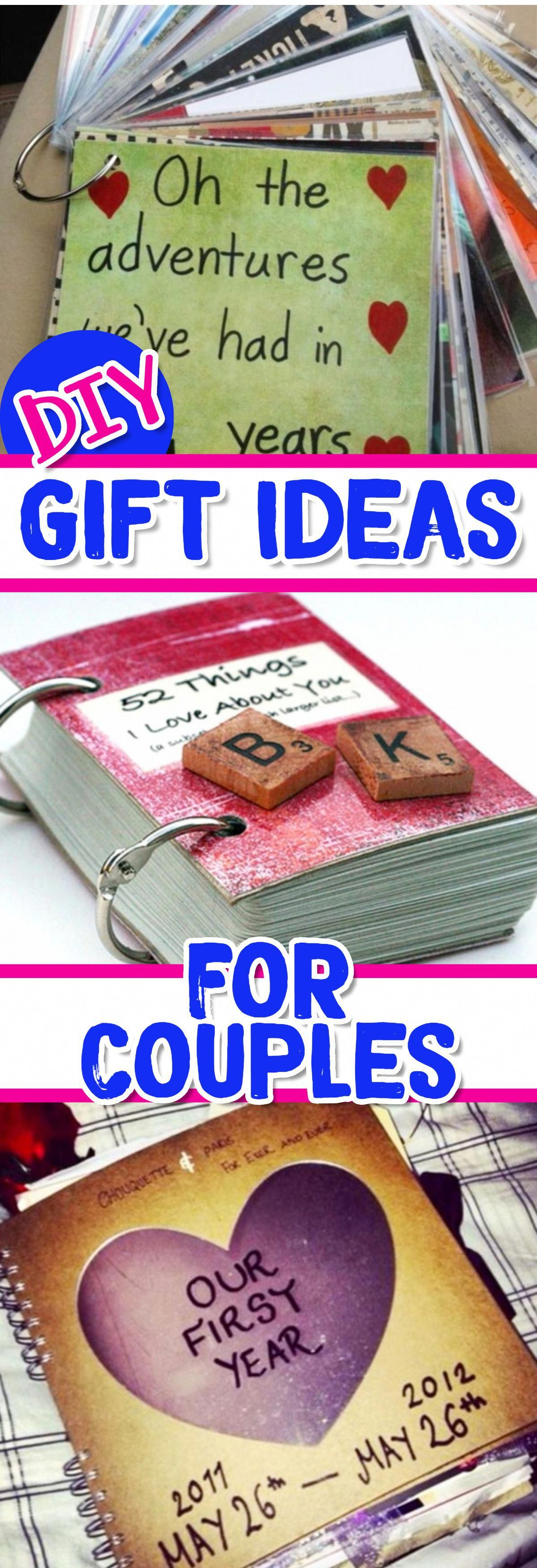 Diy gift ideas for him or for her giftsforhim