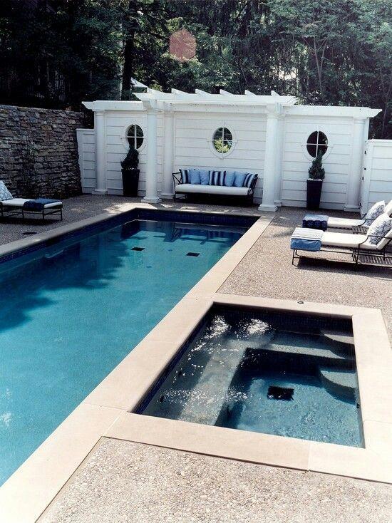 Pin By Sally Lindsay On Great Hot Tub Inspiration Indoor Swimming Pools Pool Cabana Backyard Pool