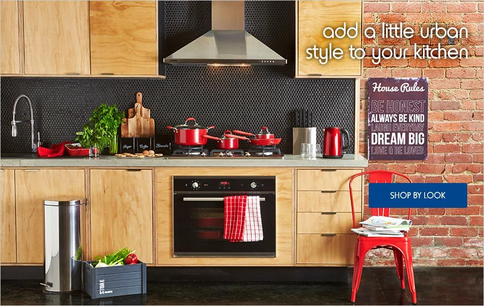 to Kmart Urban kitchen, Home kitchens, Kitchen
