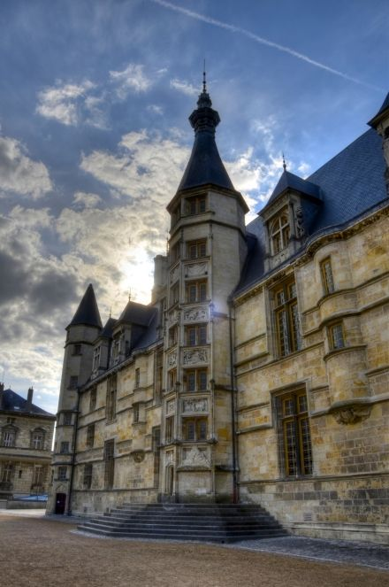 Le Palais Ducal in #Nevers. Nevers is the capital of the #Nievre department of Burgundy.