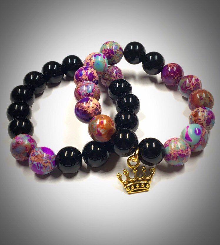 Disney Descendants 3 Audrey Queen of Mean inspired bracelet set #descendants3
