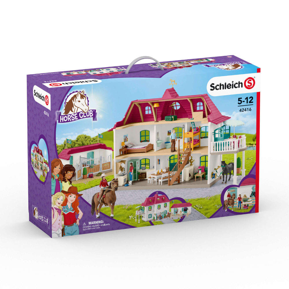 Schleich 42416 Horse Club Large Horse Stable Wtih House And Stable Walmart Canada Horse Stables Horses Stables