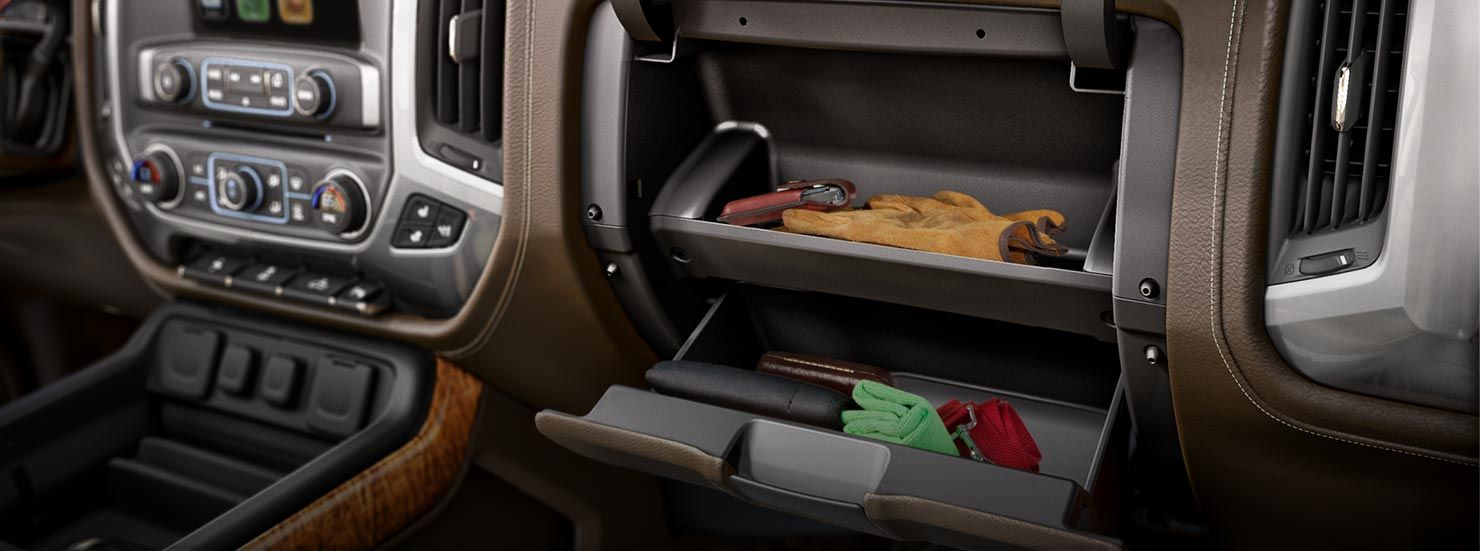 2015 Silverado Seat Cargo Box Storage
