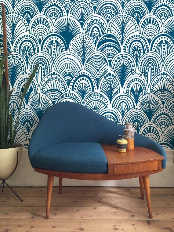 Best Burgundy Bohemian Removable Wallpaper Abstract Wallpaper 640 x 480