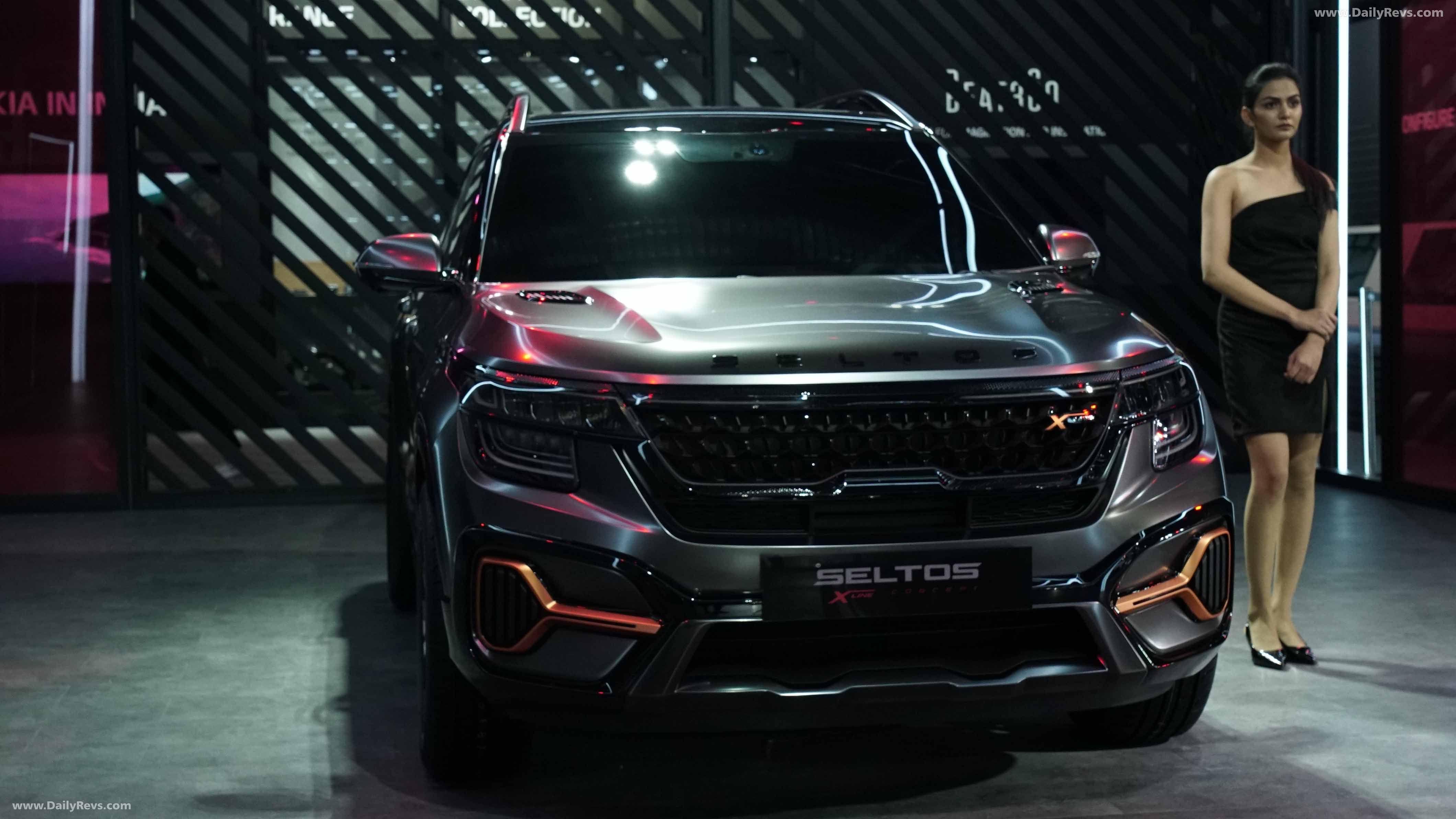 2020 Kia Seltos X Line Dailyrevs In 2020 Kia Kia Motors Compact Suv