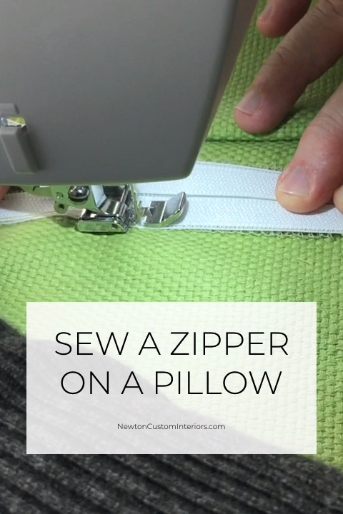 Photo of Sew A Zipper On A Pillow