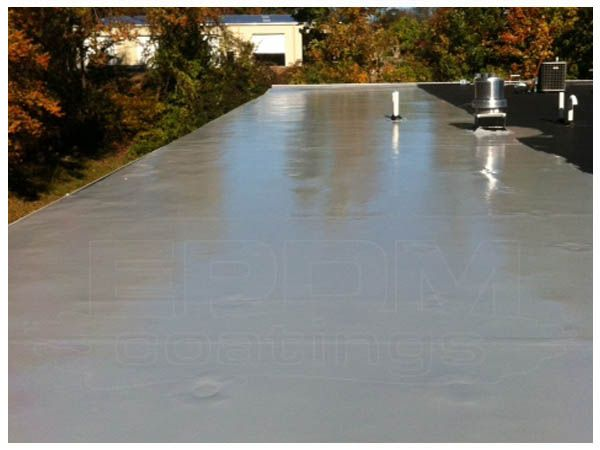 Pin By Roof Coatings On Roof Coatings Liquid Rubber Roof Sealant Flat Roof Repair