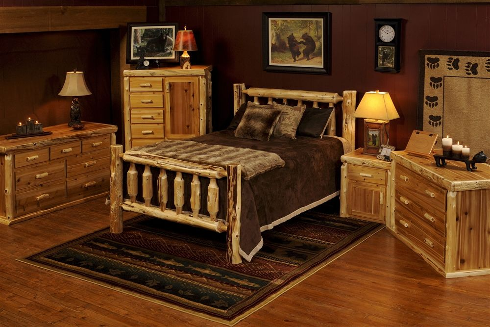 The Big Woods Rustic Bed