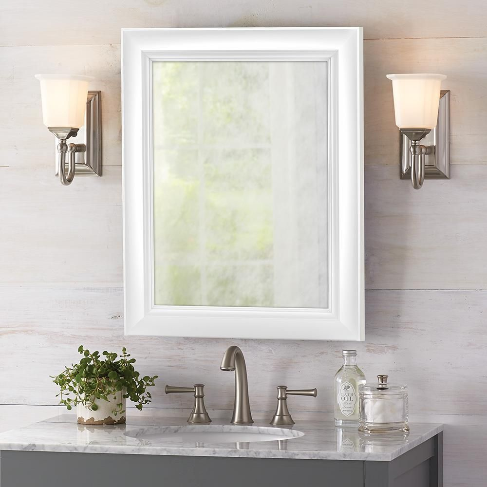 Home Decorators Collection 24 In W X 30 In H Fog Free Framed