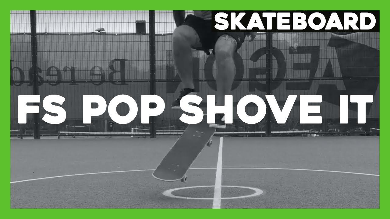 How To Frontside Pop Shove It Basic Skateboard Trick Skateboard Photography Skateboard Pop