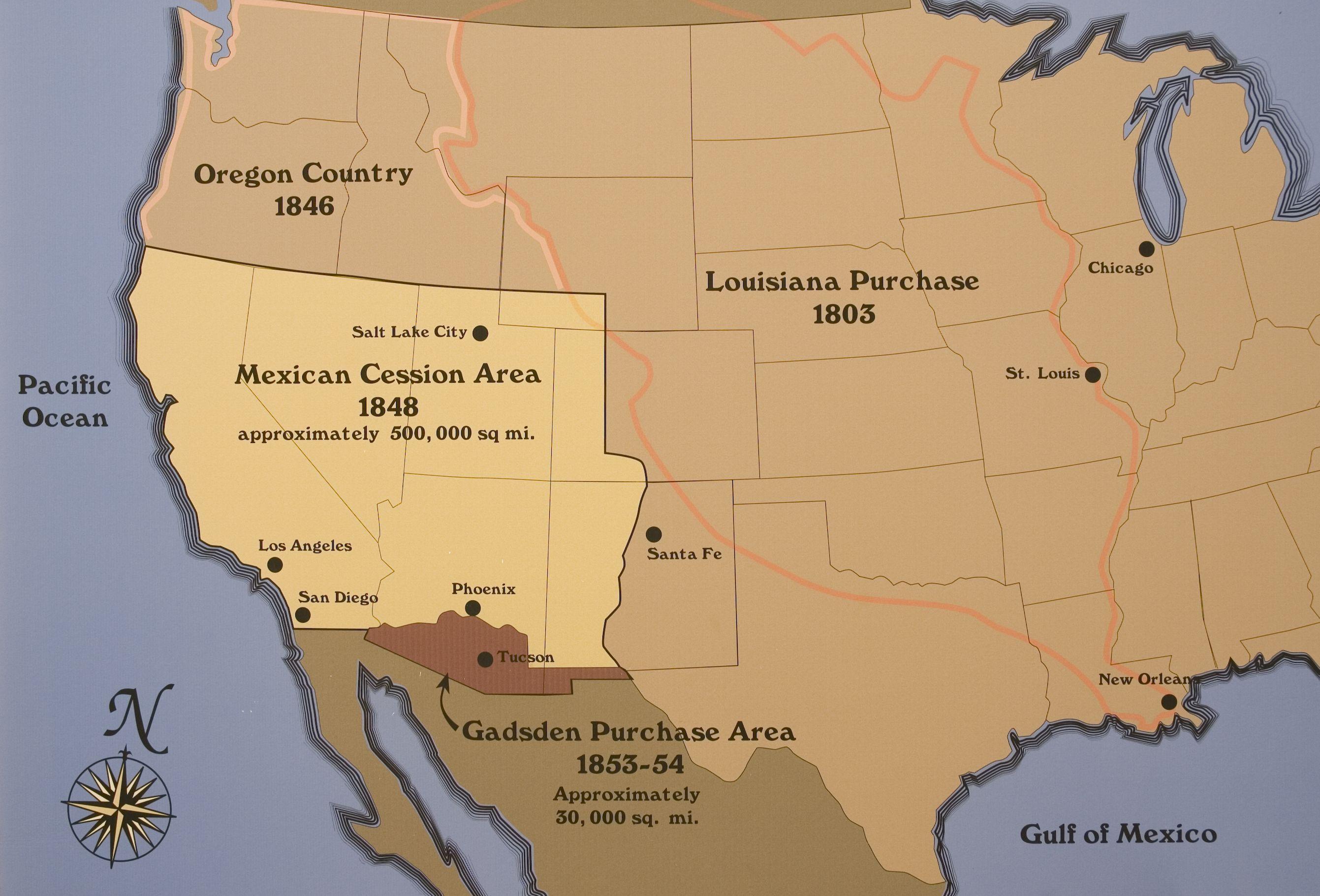 CC3 HIST wk 6 10 Louisiana Gadsden Purchases to teach CC3
