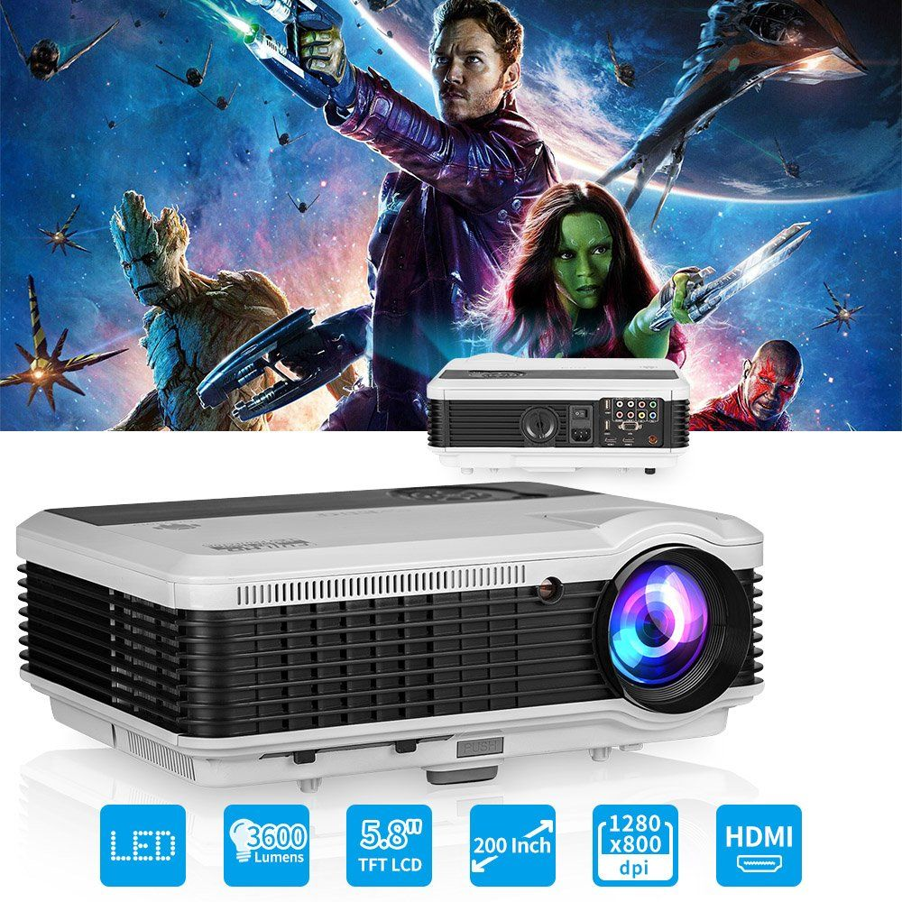 Eug Home Theater Multimedia 3d 4000 Lumens Hdmi Led Projector X760 2500 High Resolution 1024 X 600 Tv Tunner C563a931b46413ff2db4f75326cb3698