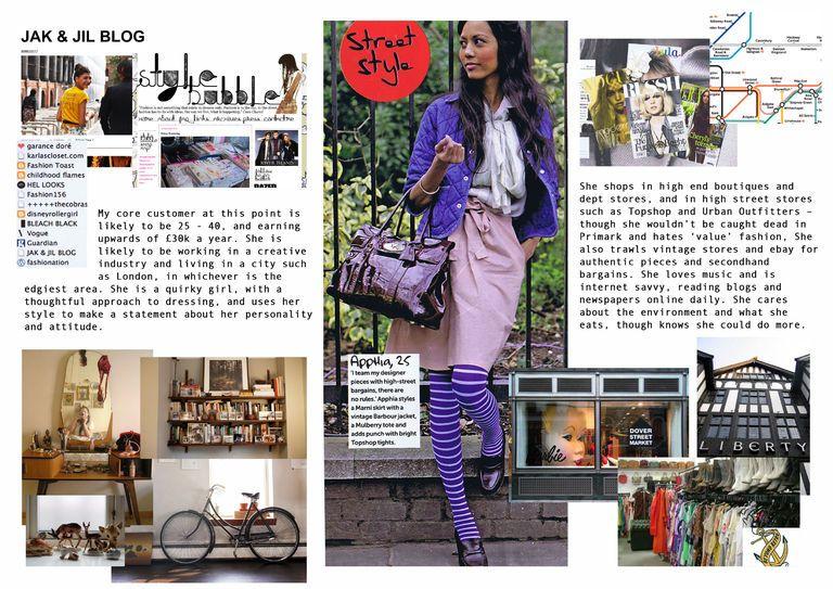 Customer Profile Fashion Marketing Fashion Communication High Street Stores