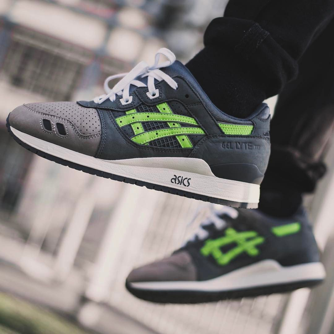 84b0315fedeb Ronnie Fieg x Asics Gel Lyte III  Super Green  - 2016 (by guigan713) A  quality pair of shoe trees by Sole Trees are a perfect fit for your  sneakers ...