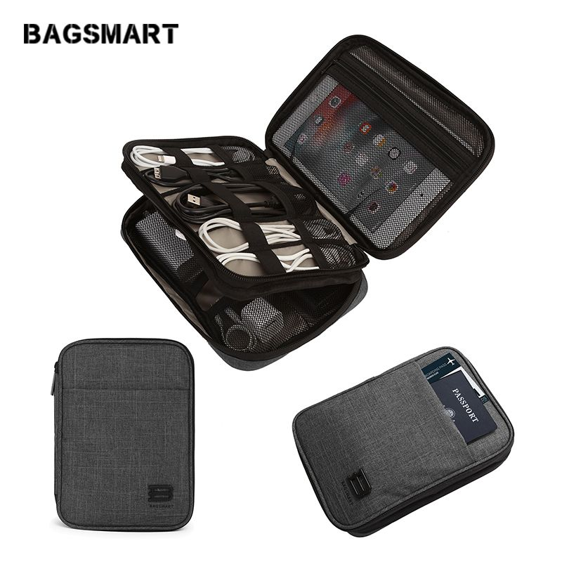 Bagsmart Electronic Travel Accessories Nylon For Sd Card Usb