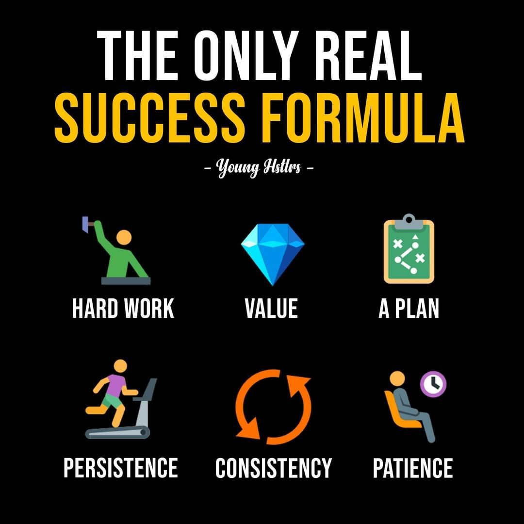 The only real formula for success in business