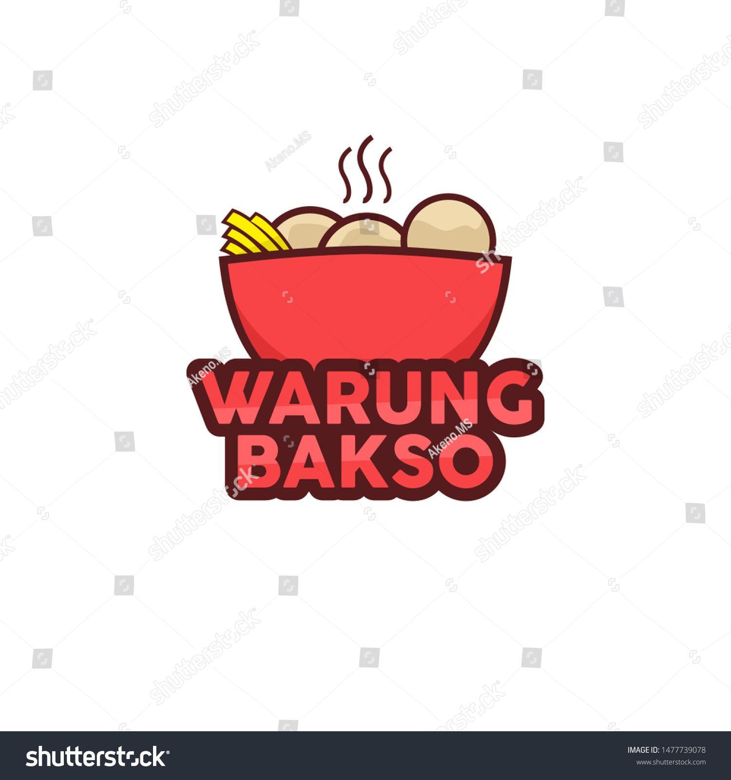 Warung Bakso Logo Template Vector Ad Affiliate Bakso Warung Logo Vector In 2020 Logo Templates Vector Logo Logos