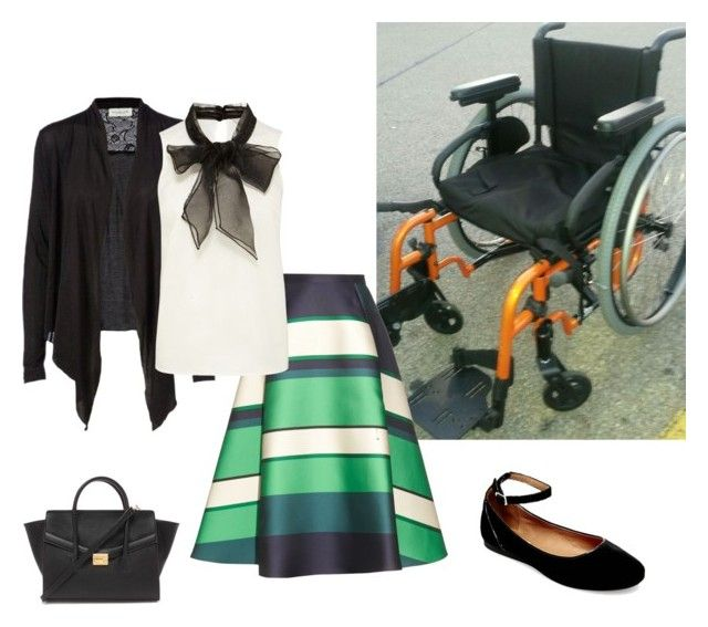 """A Wheelchair Does Not Stop Style"" by fashionstronger ❤ liked on Polyvore featuring Lanvin, Rosemunde, Forever 21 and Steve Madden"