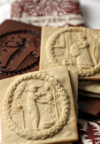 Preciosas galletas suizas de Navidad