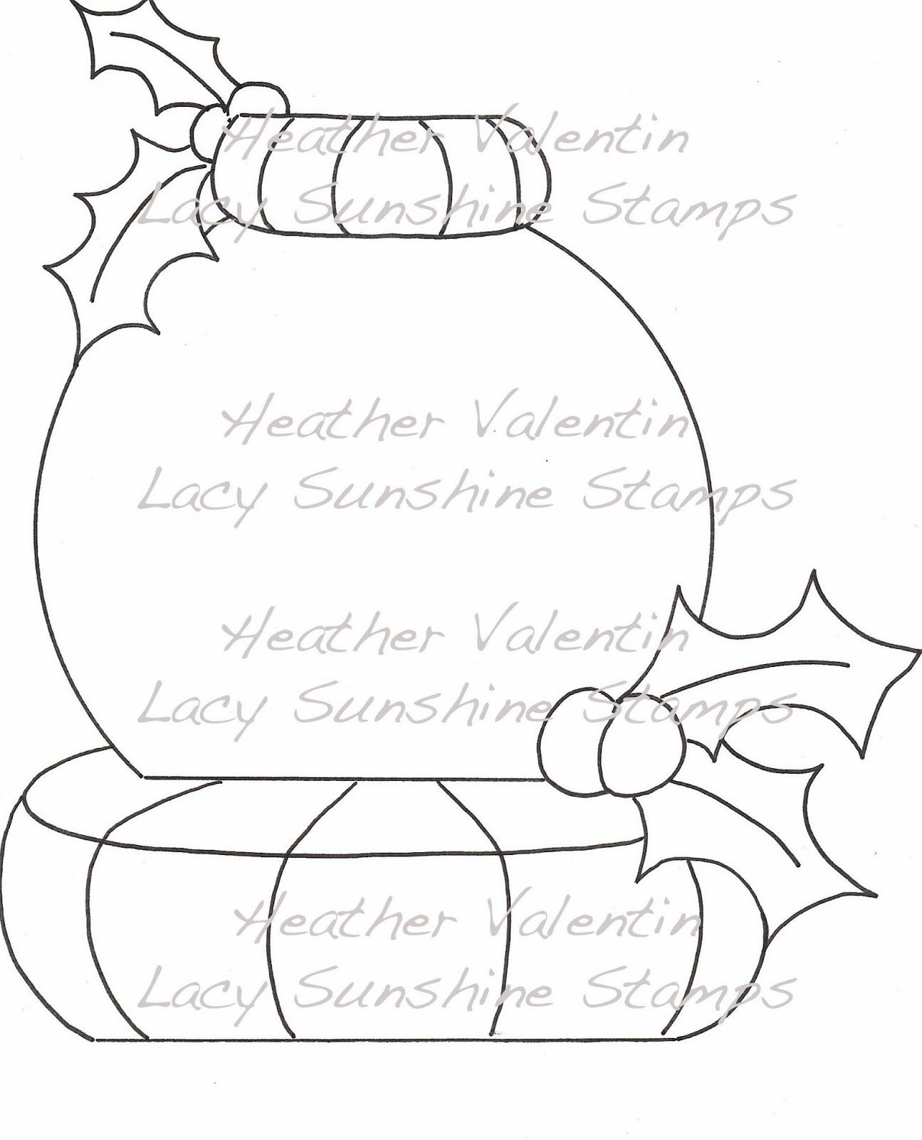 snow globe coloring page  coloring pages adult coloring