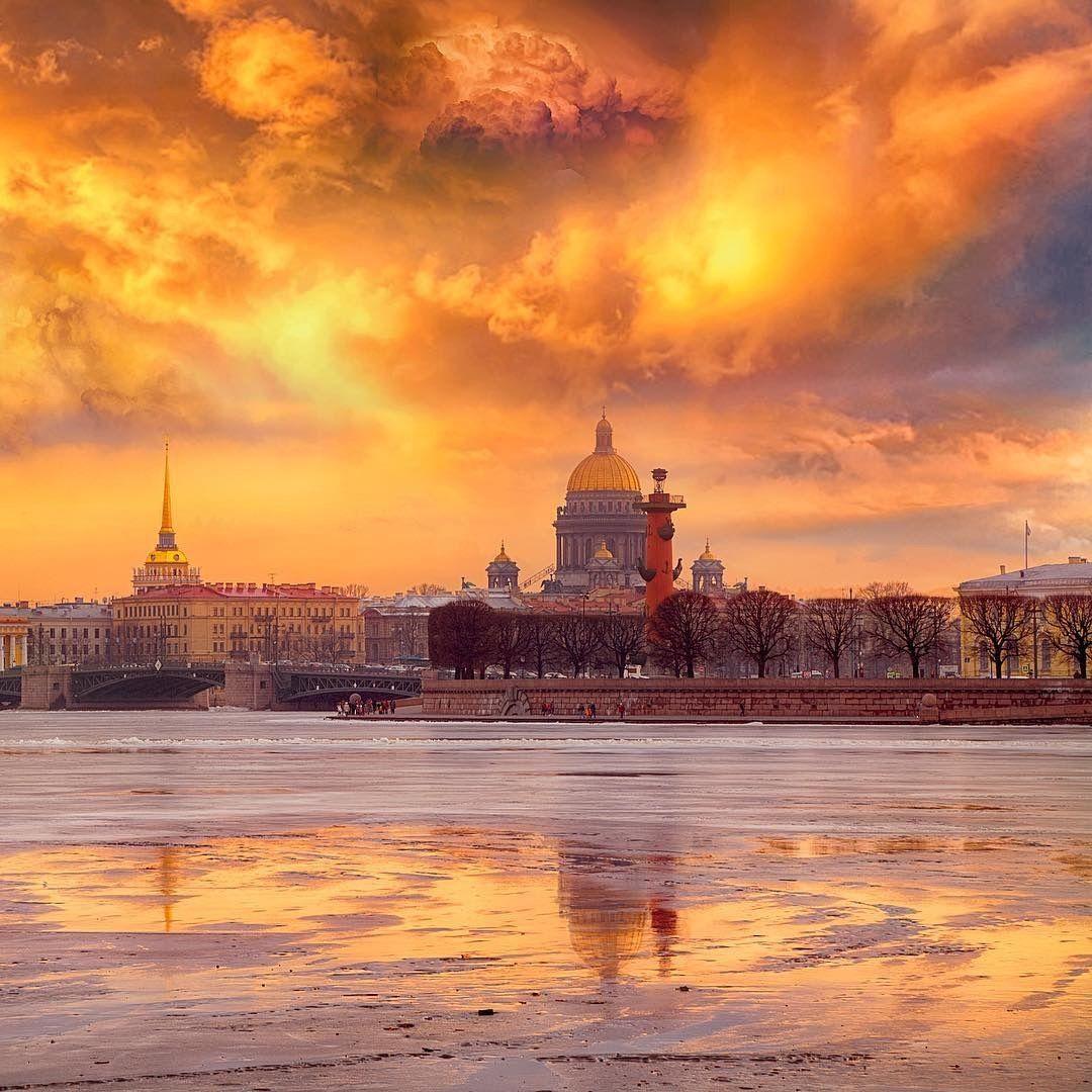нее рассвет в санкт петербурге фото ускорить работу