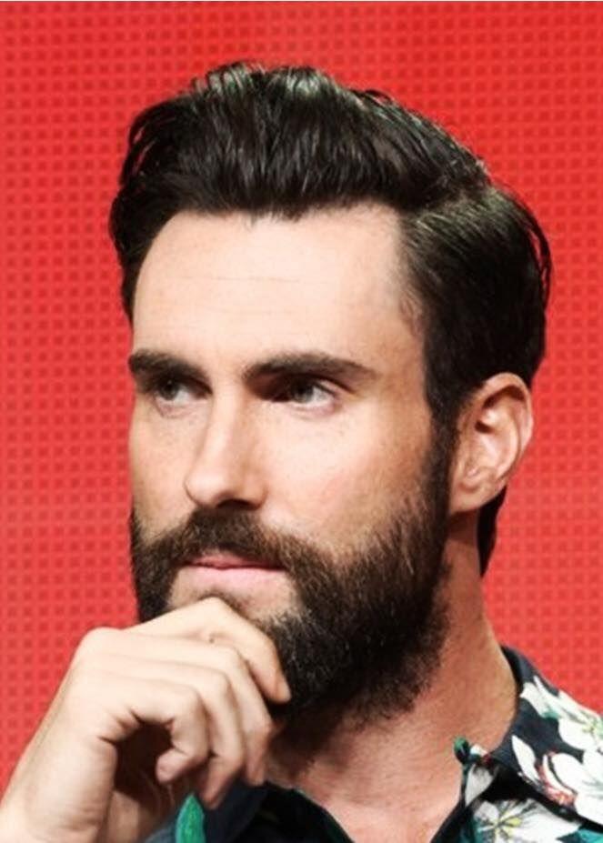 Pin on Adam Levine |Haircut Beard Adam Levine