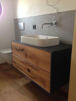 Waschtisch Nach Mass Aus Massiv Holz Badezimmer Unterschrank Badezimmer Badezimmer Mobel