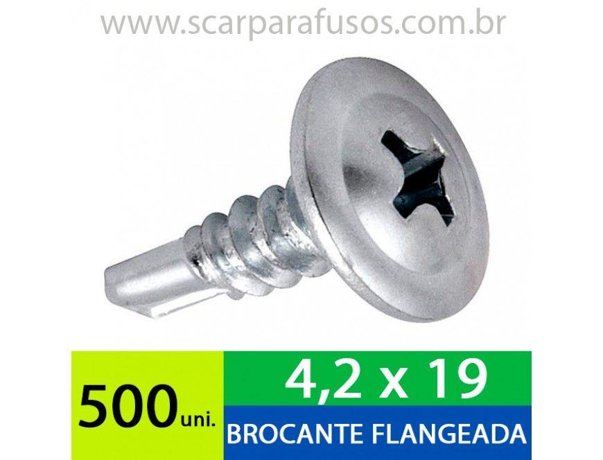 GroBartig Parafuso Auto Brocante Cabeça Flangeada Philips 4,2 X 19