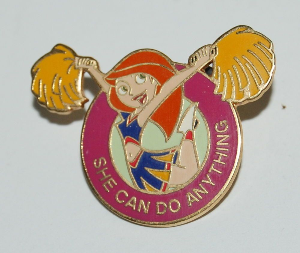 Disney Pin 25423 Kim Possible Cheerleader She can do Anything in Collectibles, Disneyana, Contemporary (1968-Now) | eBay