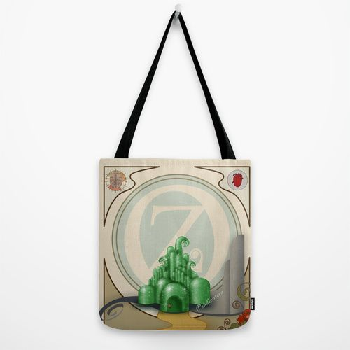 Dorothy and OZ ( art nouveau style ) Tote Bag by Pendientera | Society6