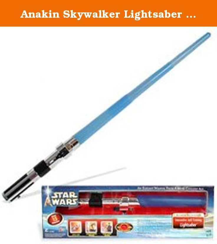 Anakin Skywalker Lightsaber From Star Wars Episode Ii Produced By Hasbro In 2002 Requires 4 Star Wars Episode Ii Anakin Skywalker Lightsaber Anakin Skywalker