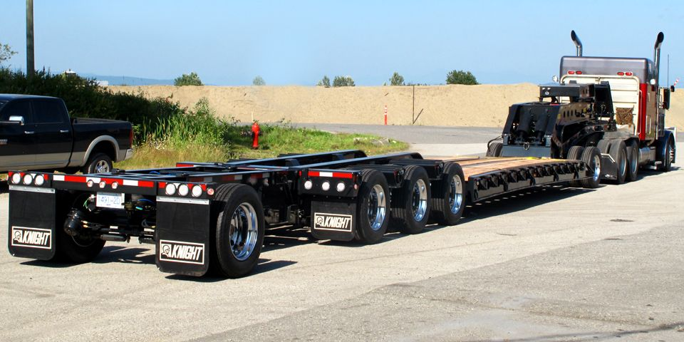 Kb Series Low Beds Lowboy Products Knight Trailer Low Bed