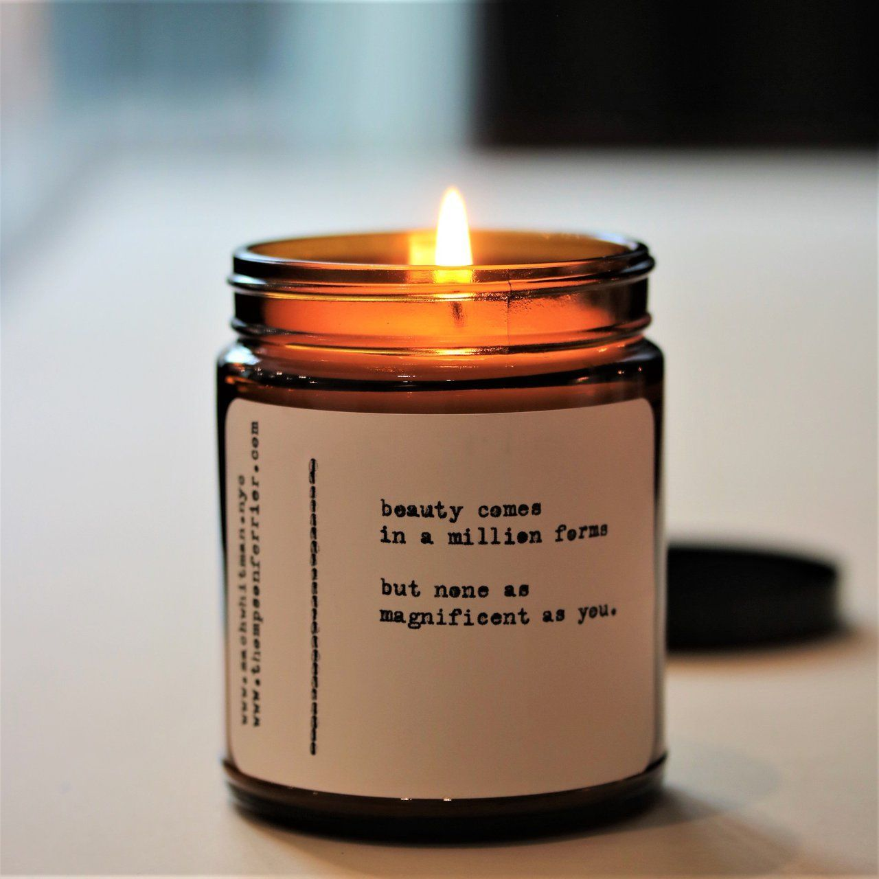 BULGARIAN ROSE AROMATHERAPY FRAGRANT WAX CANDLE ROSE