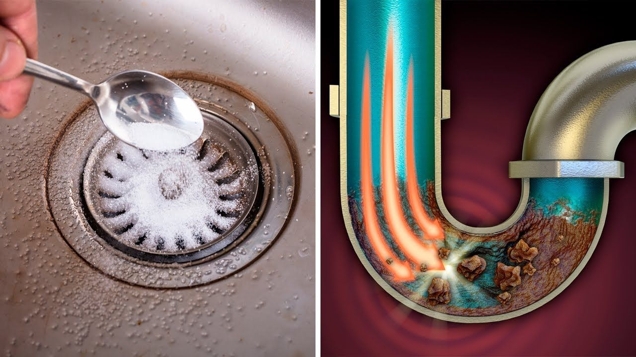 How To Unclog A Kitchen Sink Drain Fast And Cheap Method