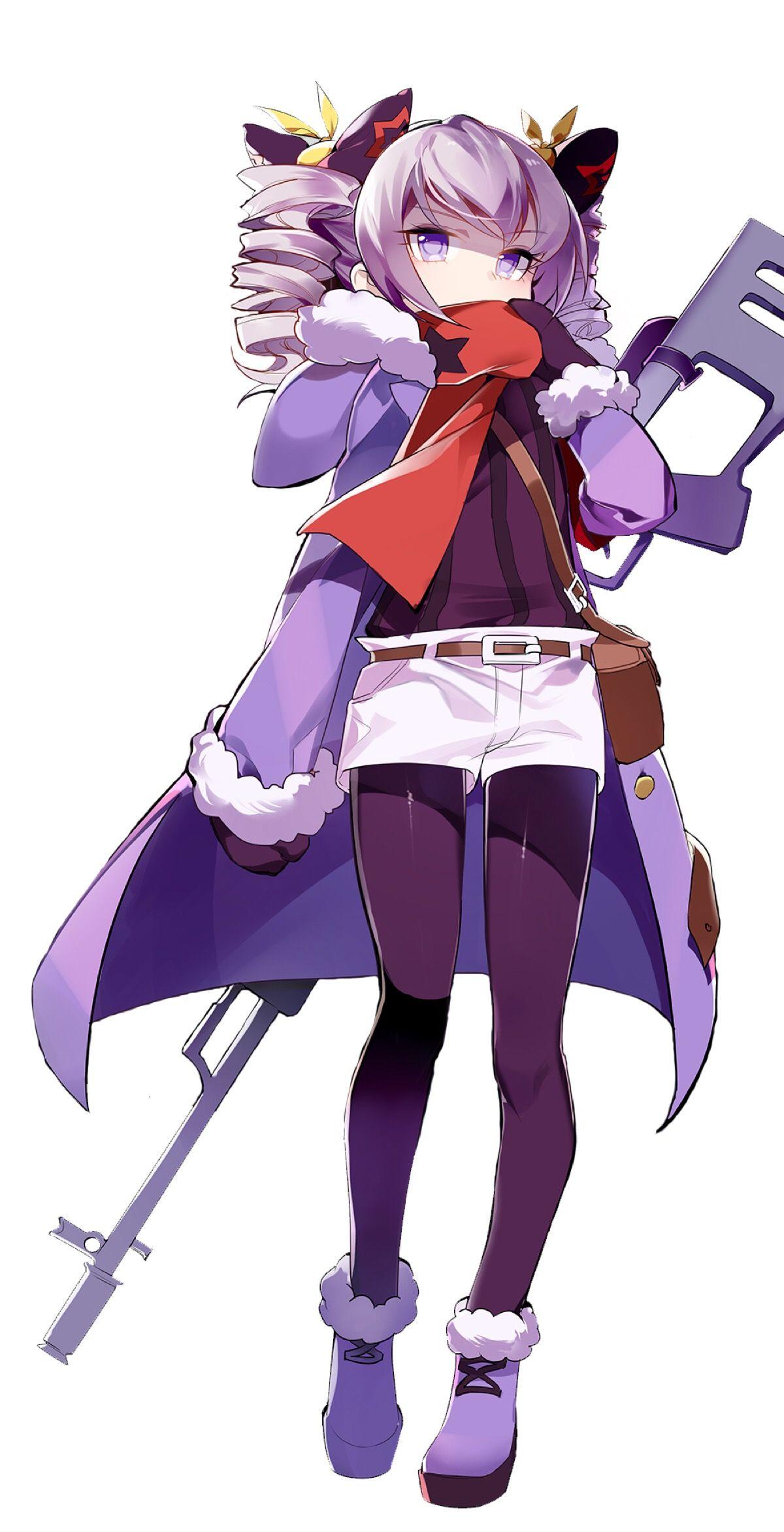Ghim Của Anthonie Jones Posing Tren Guns Girl Honkai Gakuen Anime Nghệ Thuật Anime Nghệ Thuật